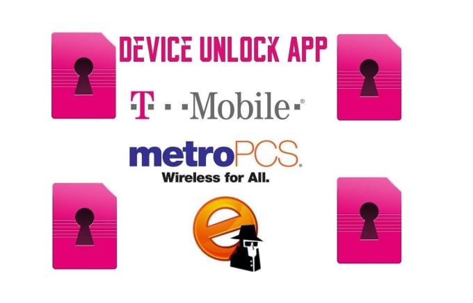 codeunlock : I will unlock Lg Phone MetroPcs or Tmobile Device Unlock App  Ok for $5 on www fiverr com