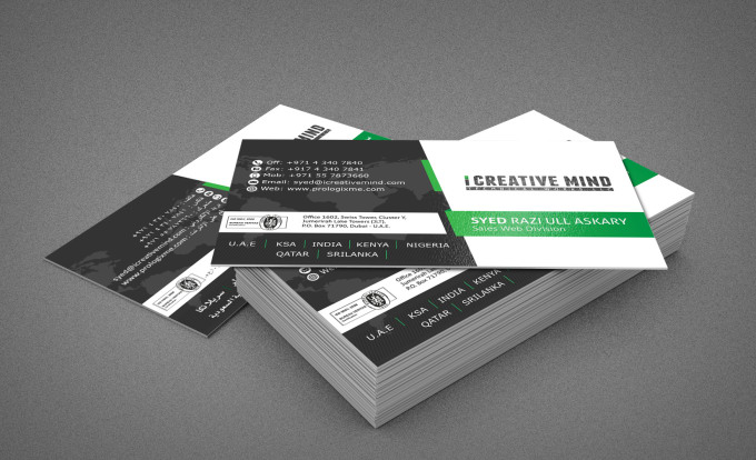 Do amazing business card designing by danishaly do amazing business card designing reheart Image collections