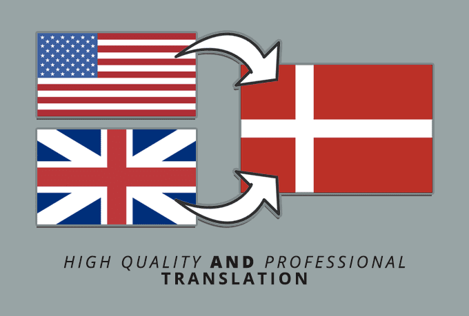 dansk english translation