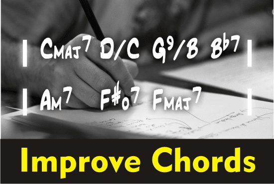 Improve The Guitar Or Piano Chords Of Your Song By Rafaelrs25