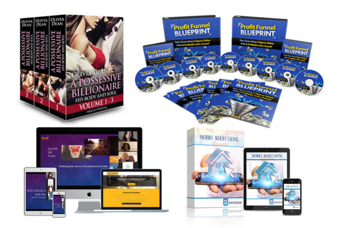 Design 3d Book Cover Ebook Bundle Product Box Dvd Cd Ecover For Online Course
