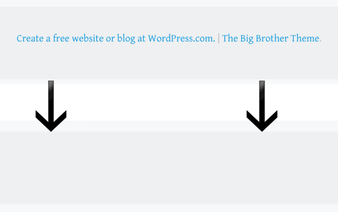 remove a Weebly, Wordpress, or Wix footer