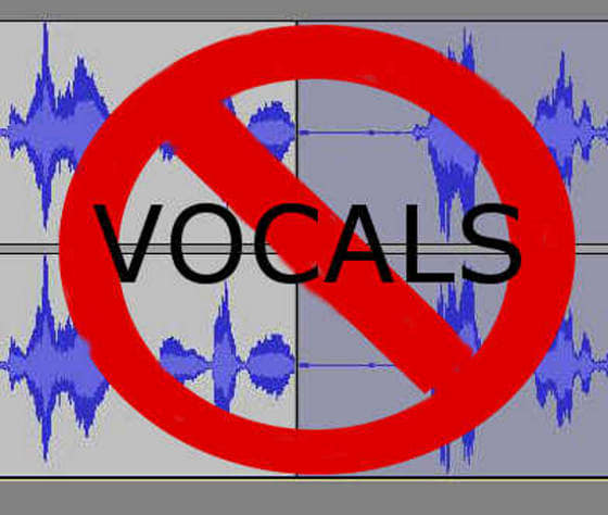how to get the vocals out of a song