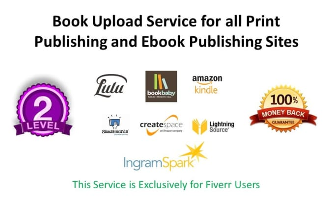 upload book in createspace ingram lightning source etc by weformat