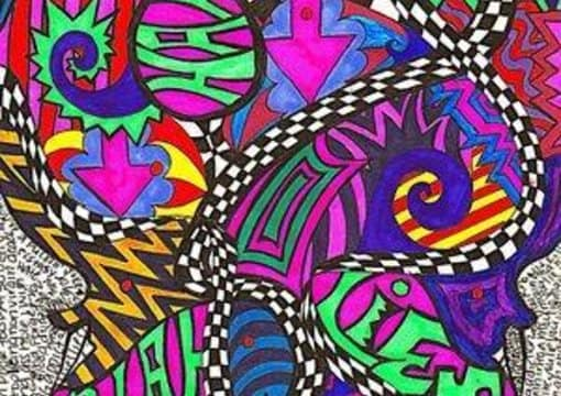 Draw A Psychedelic Picture