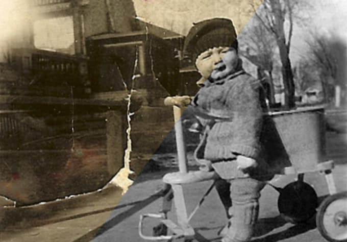 how to restore damaged photos