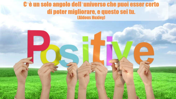create 20 inspirational image quotes in italian language