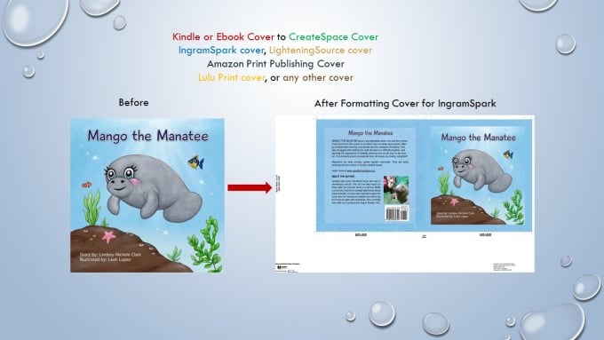 Create Back Cover And Spine Using Front Cover Ebook Cover