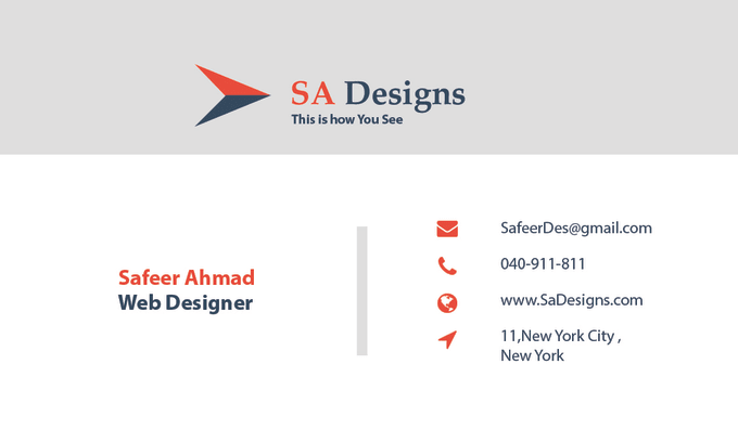 Create a professional business card print ready by safeer1122 username is out of office create a professional business card print ready reheart Gallery