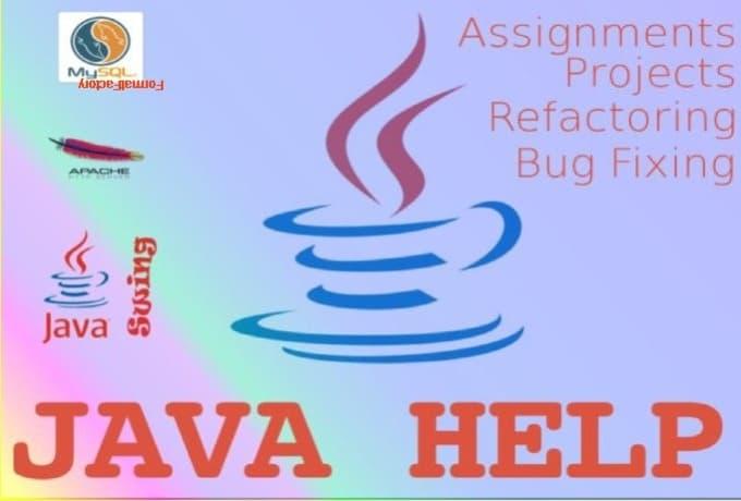 java homework assignments