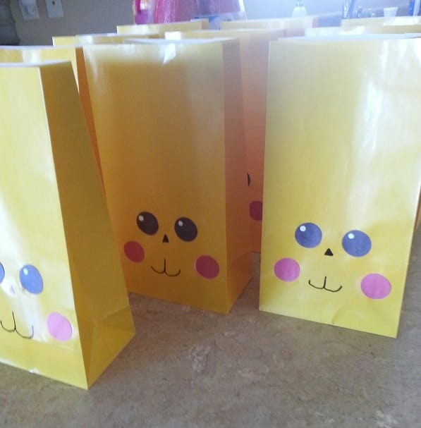 I Will Send You 10 Homemade Pokemon Gift Bags