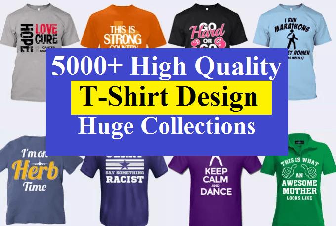 23e630a3f I will give you 5000 plus high quality editable Tshirt design huge bundle