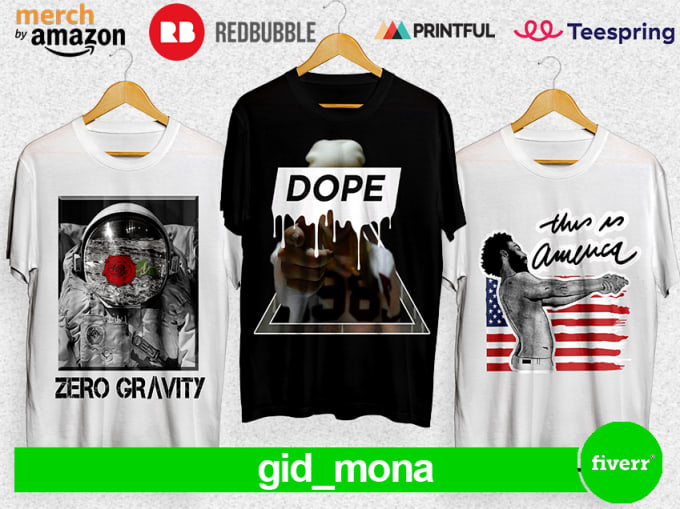 Create Tshirt Design For Your Clothing Line By Gid Mona