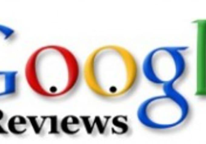 Write a google business reviews