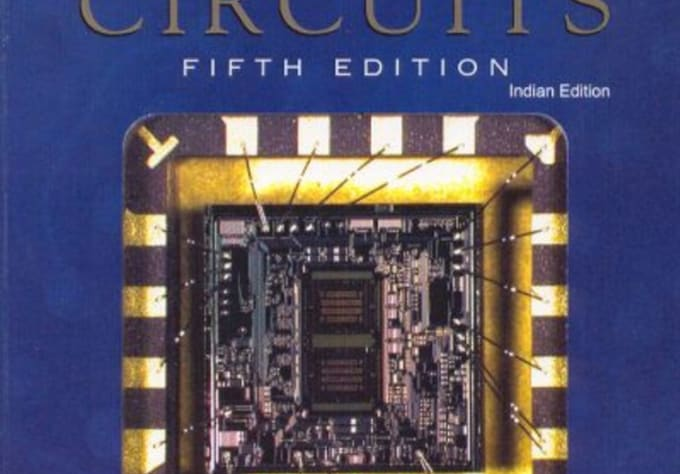 Microelectronic circuits 5th edition by adel s. Sedra and kenneth.