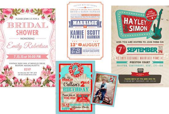 design attractive retro invitations by hera10