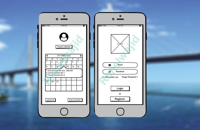 balsamiq wireframe for website mobile app web app