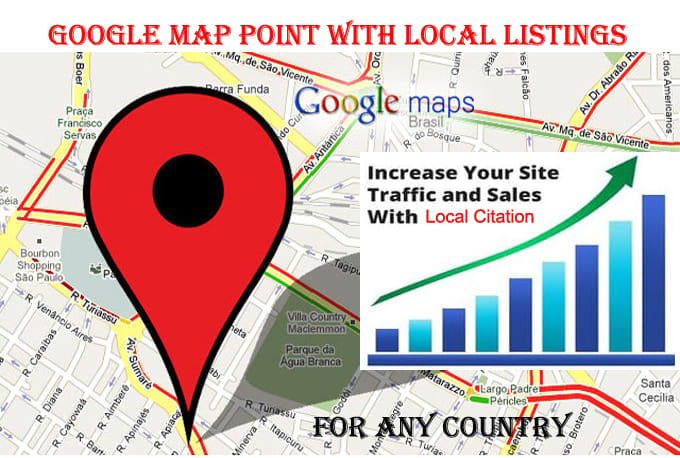 Do 1000 map point citations with local listings by Zamima Google Map Listing on google maps find, google aerial view, google alaska, google web page, google maps example, google places listing-free, google virtual tour, google california, google business listing, google new york,