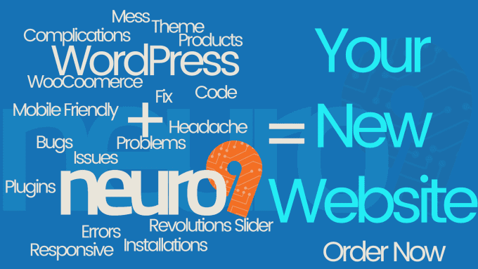 neuro9 : I will install and setup Wordpress theme exactly as demo for $5 on  www fiverr com