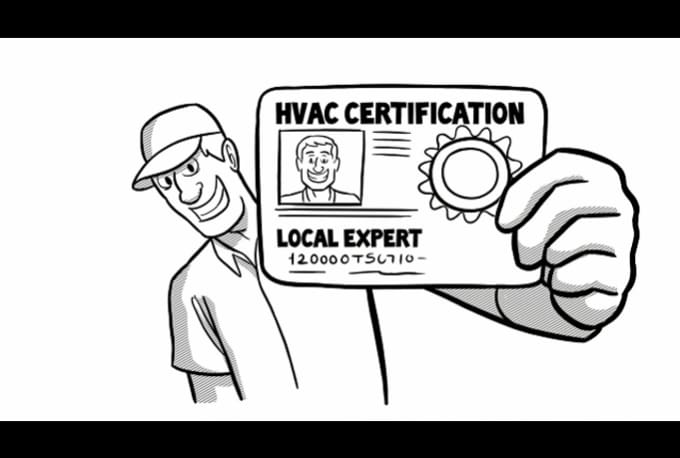Create A Hvac Contractor Whiteboard Video Scribe By Rovideobox
