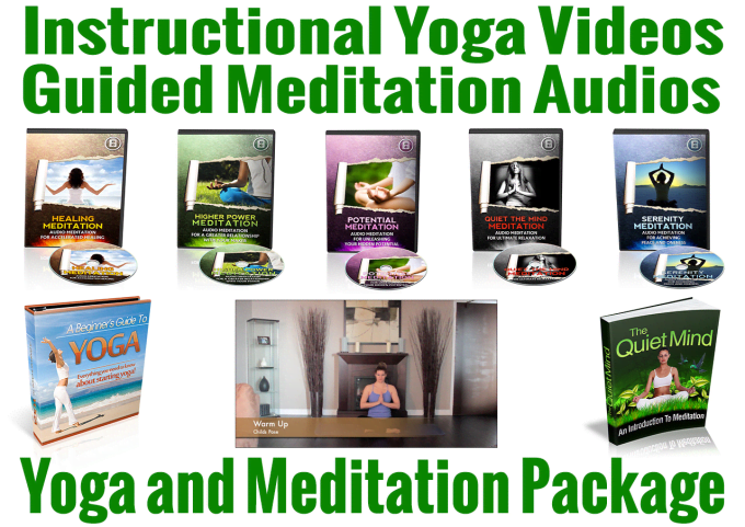 Give You A Yoga Video And Guided Meditation Package By Markgreenway