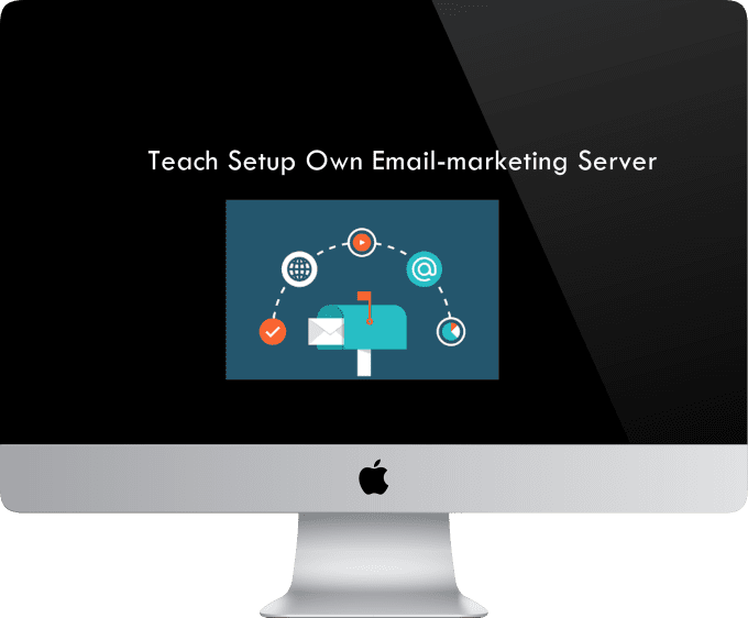 teach setup own email marketing server