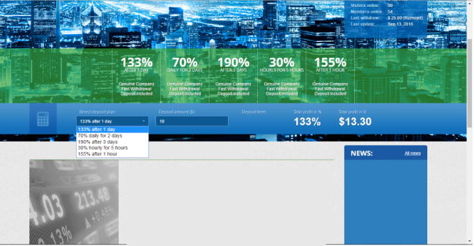 markostevanov : I will make hyip calculator in html code for 5 dollars only  for $5 on www fiverr com