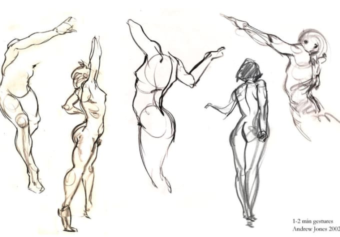 how to draw a sexy body