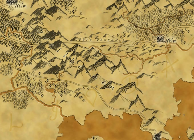 draw your fantasy map Draw On Map on