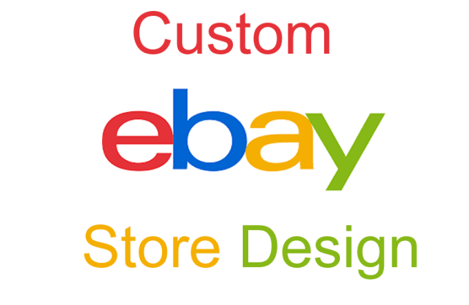 Custom Ebay Store Design Custom Ebay Shop Template By Vaghelakanak - Custom ebay store template