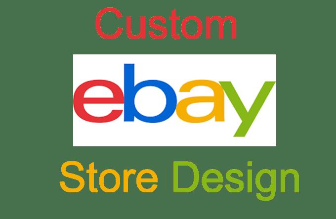 Custom Ebay Store Design Custom Ebay Shop Template By Vaghelakanak - Custom ebay store design template