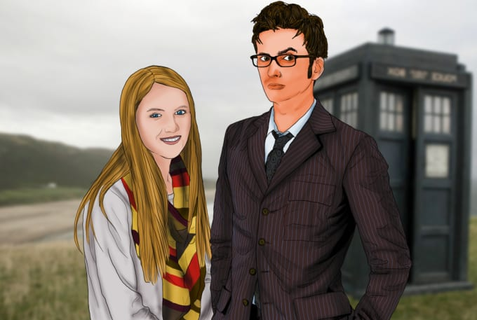 Draw you and doctor who by Jonathankantor