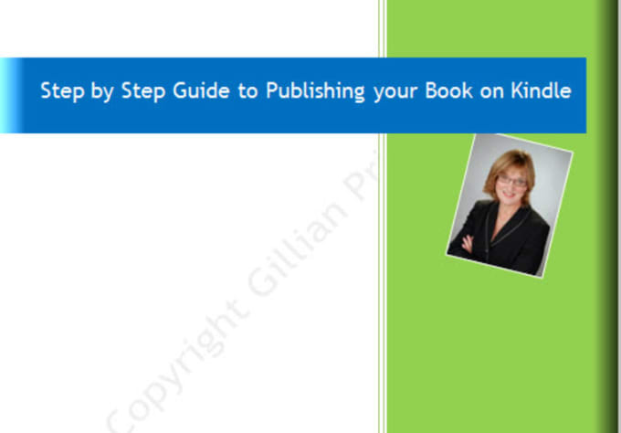 gillyul : I will send you my step by step instructions on publishing a book  on Kindle for $5 on www fiverr com
