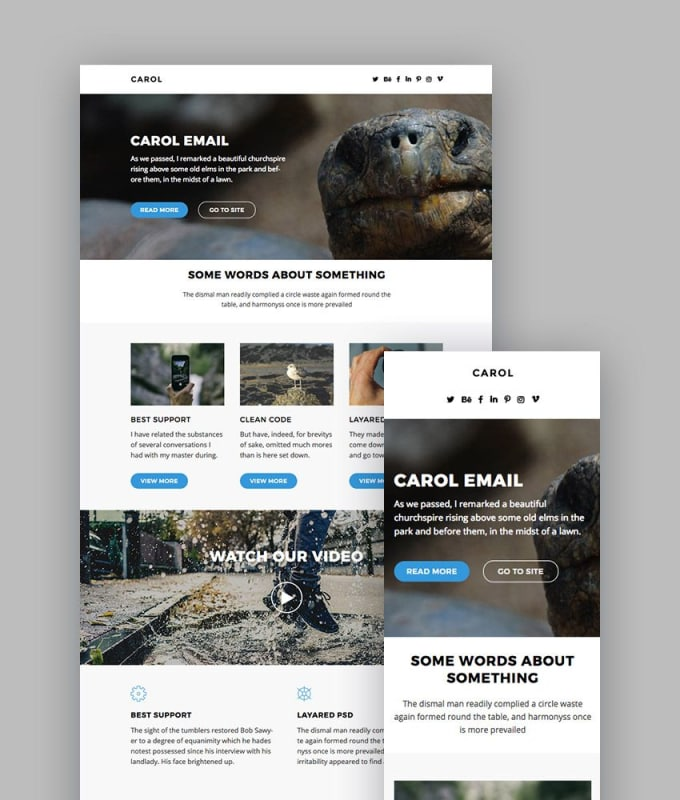 create-beautiful-email-template-for-increase-sales Sale Business Newsletter Templates on