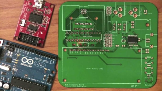 Design a pcb board with eagle cad by Aopsoss