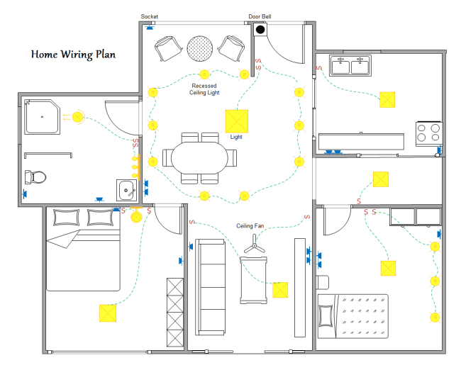 simple electrical layout - 650×522