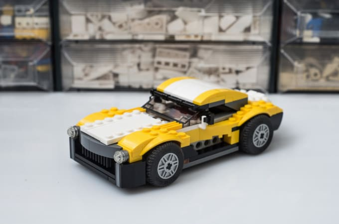 Create Video Instructions For Custom Lego Car Creation By Keeponbricking