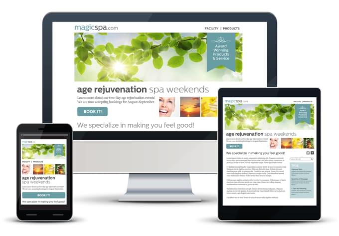 design responsive html email template newsletter eflyer by technopluslk