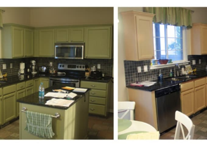 Foto81 I Will Change The Color Of Your Kitchen Cabinets In Photoshop For 5 On Www Fiverr Com