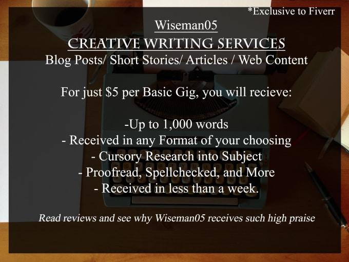 Help write short story
