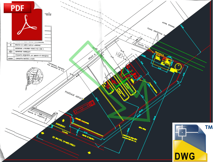 converting pdf file to dwg file