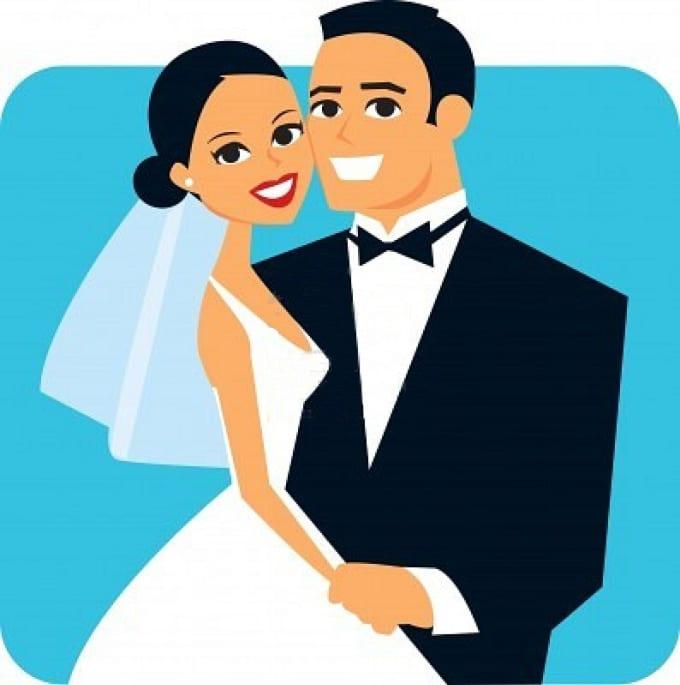 Заготовку для, муж и жена картинки нарисованные