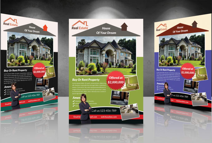 design business flyer real estate flyer corporate flyer by raheel362