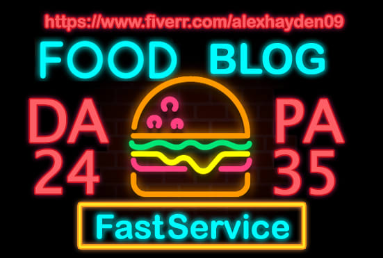 submit guest post in food blog