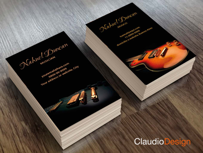 Design business cards for musicians by claudiodesign design business cards for musicians colourmoves