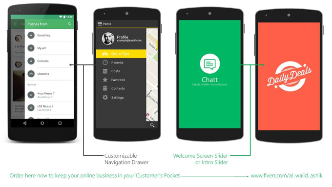 how to create an android app from a website