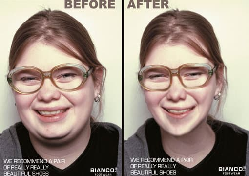 how to make your face skinnier in photoshop