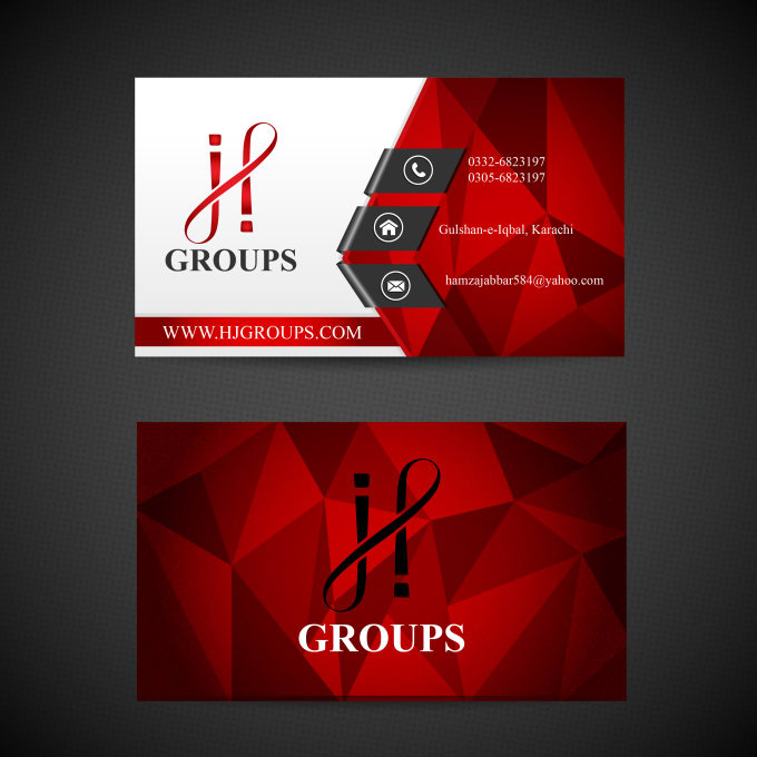 Design Eyecatching Business Cards By Designlab007