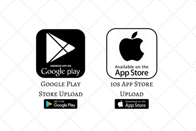 upload android and iphone app to app store
