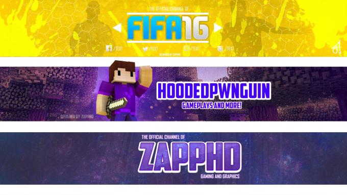 Design A Minecraft Youtube Channel Banner